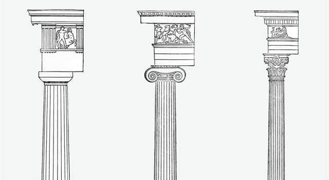 Historia Pregunta Trivia: ¿Cuáles son los tres órdenes arquitectónicos griegos?