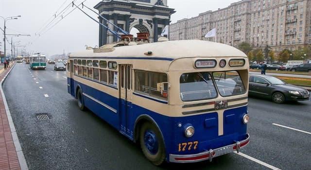 Sociedad Pregunta Trivia: ¿Cuándo se abrió la primera ruta de trolebuses de la capital soviética?