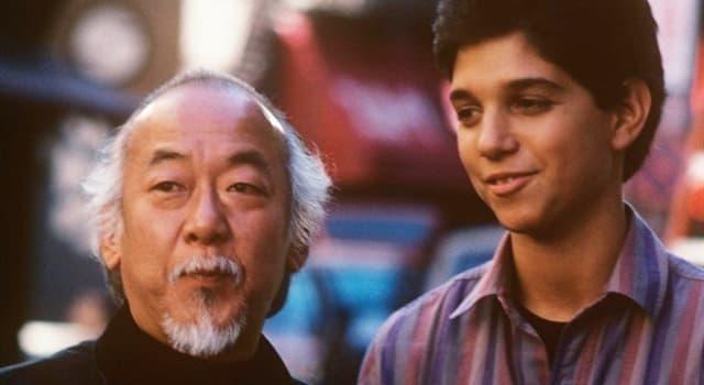 """Películas Pregunta Trivia: ¿Cuántas artes marciales dominaba Pat Morita, el actor de la película """"Karate Kid""""?"""