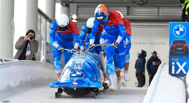 Deporte Pregunta Trivia: ¿Cuántas pruebas de Bobsleigh masculino se realizan en los Juegos Olímpicos de Invierno?