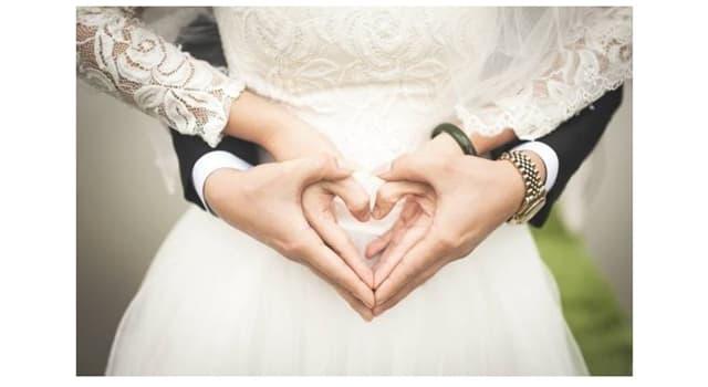 Cultura Pregunta Trivia: ¿Cuántos años de casados se festejan en las bodas de diamante?