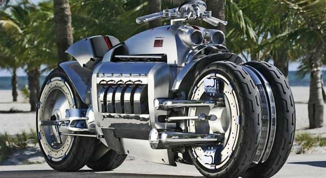 """Deporte Pregunta Trivia: ¿De qué marca es la """"moto Tomahawk"""" presentada en el """" Auto Show Internacional de América del Norte de 2003""""?"""