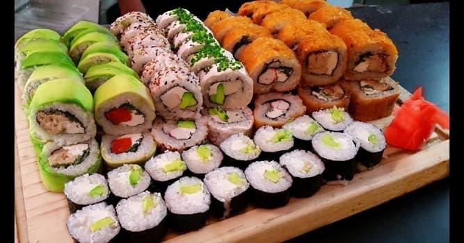 Sociedad Pregunta Trivia: ¿De qué país es originario el sushi?