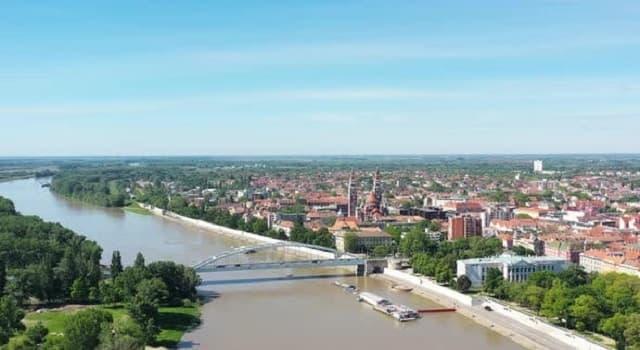 Geografía Pregunta Trivia: ¿Por cuántos paises europeos fluye el río Tisza?