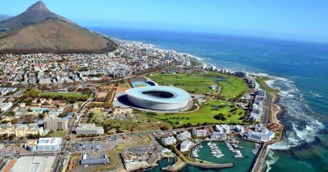 Geografía Pregunta Trivia: ¿Dónde está Ciudad del Cabo?