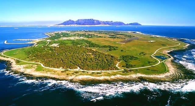 Geografía Pregunta Trivia: ¿Dónde esta la Isla Robben?