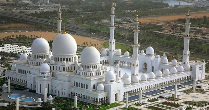 Geografía Pregunta Trivia: ¿Dónde está ubicada la mezquita de Sheikh Zayed?