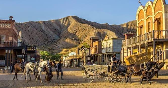 Geografía Pregunta Trivia: ¿Dónde se encuentra el Desierto de Tabernas?