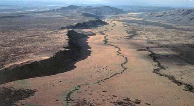 Geografía Pregunta Trivia: ¿Dónde se localiza el Gran Valle del Rift?