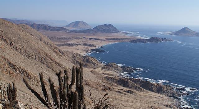 Geografía Pregunta Trivia: ¿Dónde se localiza el parque Nacional Pan de Azúcar?