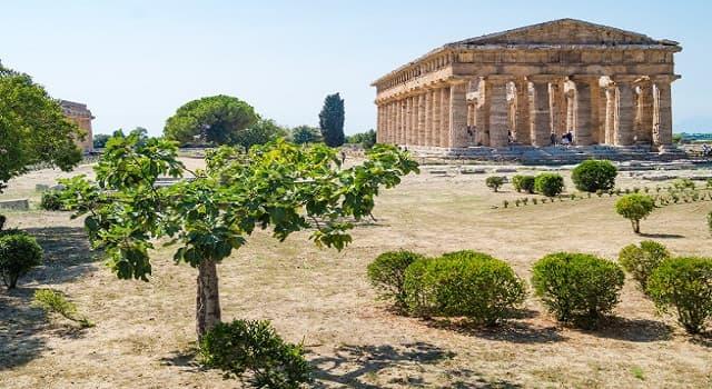 Geografía Pregunta Trivia: ¿Dónde se localizan las ruinas arqueológicas de Paestum?