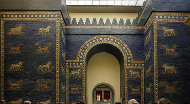 Cultura Pregunta Trivia: ¿Dónde se puede contemplar la Puerta de Ishtar?