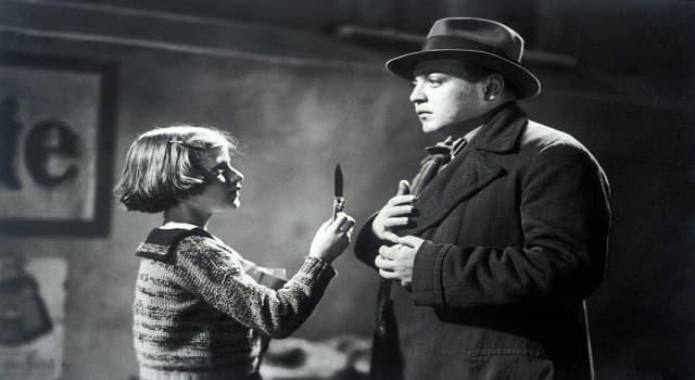"""Películas Pregunta Trivia: ¿En cuál de estas películas """"Peter Lorre"""" hace el papel de un asesino serial?"""