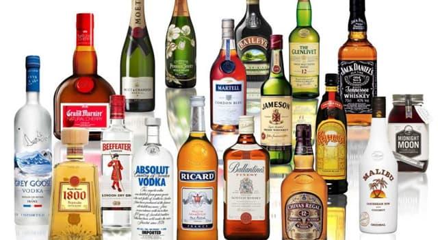 Cultura Pregunta Trivia: ¿En cuántas clases se clasifican las bebidas alcohólicas?
