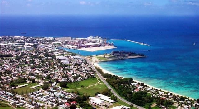 Geografía Pregunta Trivia: ¿En qué año fue fundada la ciudad de Bridgetown capital de Barbados?