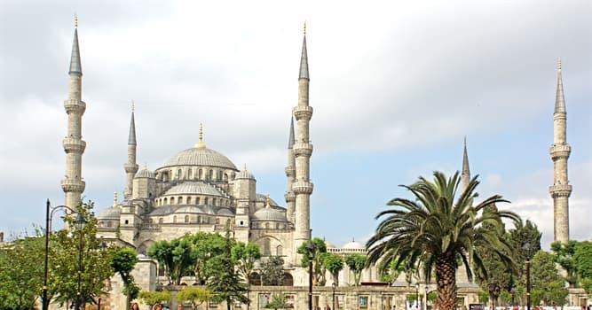 Historia Pregunta Trivia: ¿En qué año fue inaugurada la Mezquita Azul?