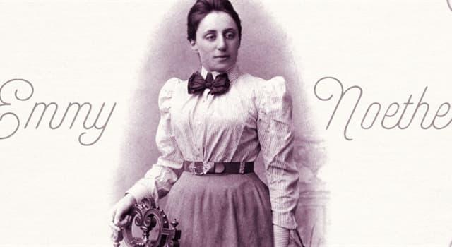 Сiencia Pregunta Trivia: ¿En qué campos científicos destacó Emmy Noether?