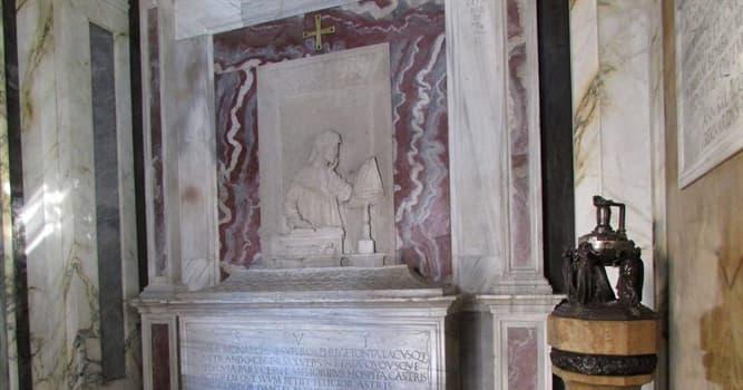 Cultura Pregunta Trivia: ¿En qué ciudad italiana se encuentran los restos de Dante Alighieri?