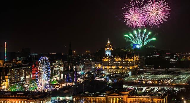 Cultura Pregunta Trivia: ¿En qué fecha celebran en Edimburgo, el Festival Hogmanay?