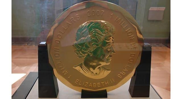 Sociedad Pregunta Trivia: ¿En qué lugar de Berlín se puede ver la moneda de 100 kg de oro adquirida por Boris Fuchsmann?