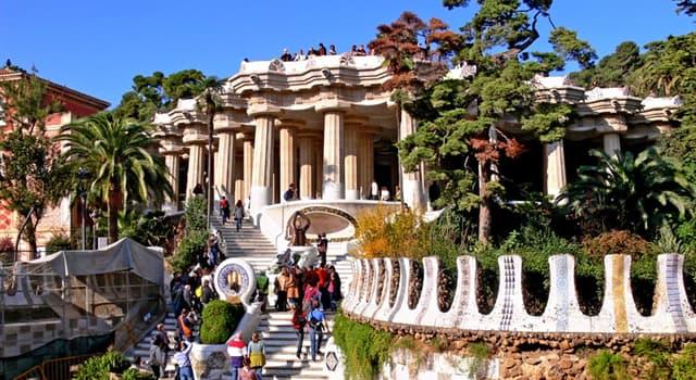 Geografía Pregunta Trivia: ¿En qué año fue inaugurado el Parque Güell en Barcelona?
