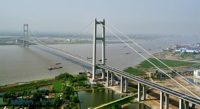 Geografía Pregunta Trivia: ¿En qué país está localizado el Puente de Runyang?