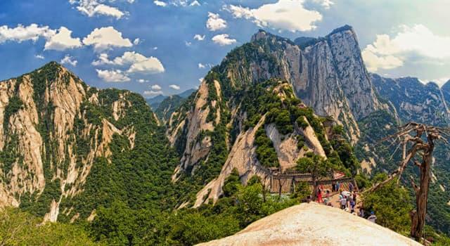 Geografía Pregunta Trivia: ¿En qué país se encuentra el Monte Hua?