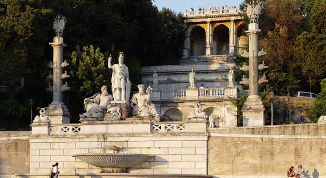 Historia Pregunta Trivia: ¿En qué país se encuentra el Monte Pincio?
