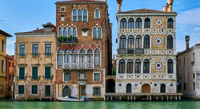 Geografía Pregunta Trivia: ¿En qué país se encuentra el palacio Ca'Dario?