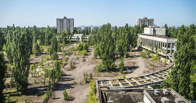 Geografía Pregunta Trivia: ¿En qué país se encuentra la ciudad abandonada de Prípiat, evacuada tras el incidente de Chernóbil?
