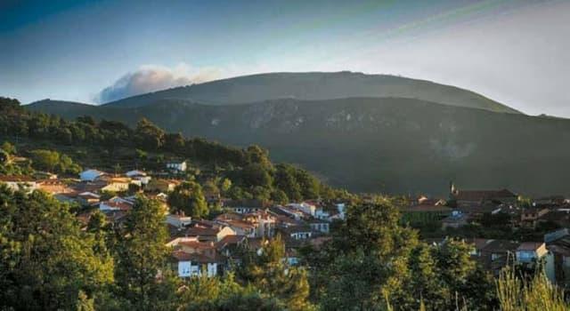 Geografía Pregunta Trivia: ¿En qué país se encuentra la Sierra de Francia?