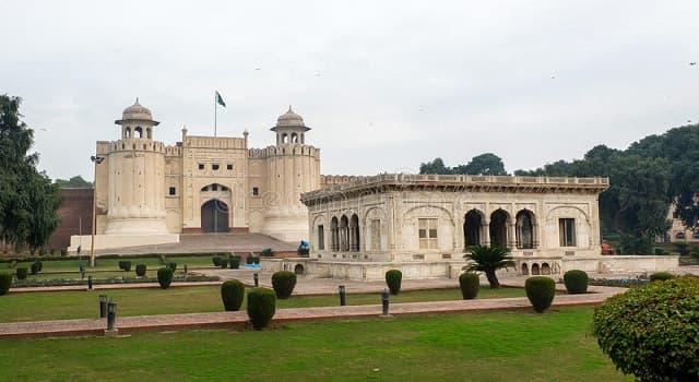 """Geografía Pregunta Trivia: ¿En qué país se localiza el """"Fuerte de Lahore""""?"""