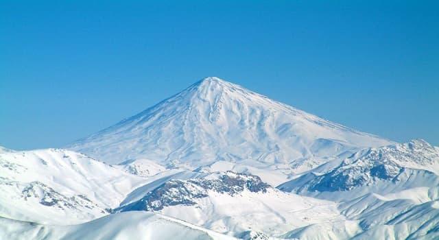 """Geografía Pregunta Trivia: ¿En qué pais se localiza """"El monte Damāvand""""?"""