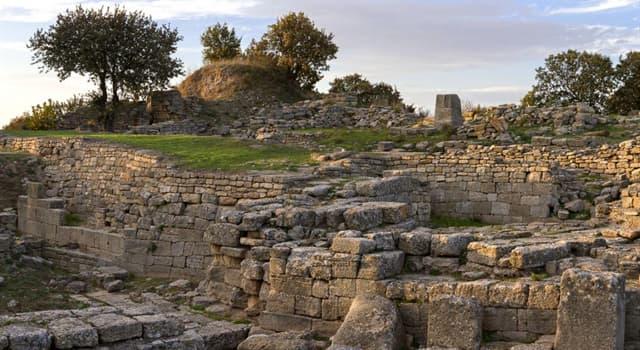 Historia Pregunta Trivia: ¿En qué siglo fueron descubiertas las ruinas de la antigua ciudad de Troya?