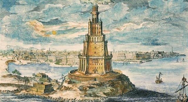 Historia Pregunta Trivia: ¿En qué siglo se construyó el Faro de Alejandría?