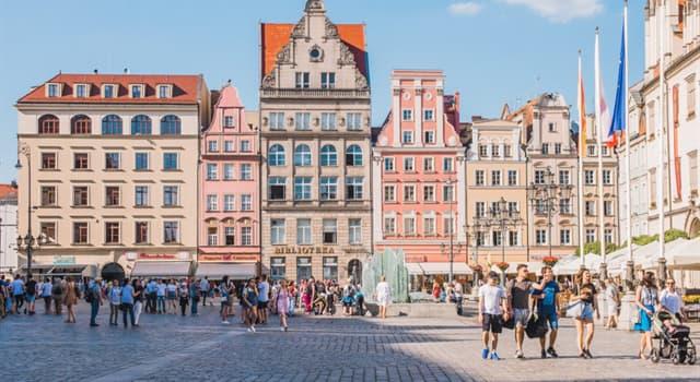 Geografía Pregunta Trivia: ¿Entre qué tres países europeos se extiende la región de Silesia?