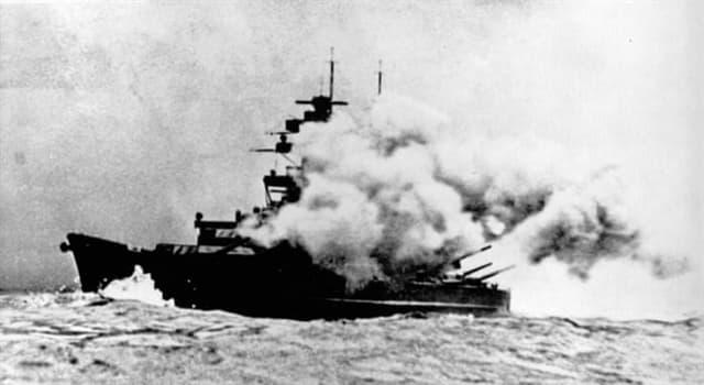 Historia Pregunta Trivia: ¿Qué acorazado alemán hundió al crucero de batalla británico HMS Hood en 1941?