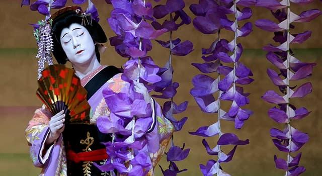 Cultura Pregunta Trivia: ¿De qué país proviene el teatro kabuki?