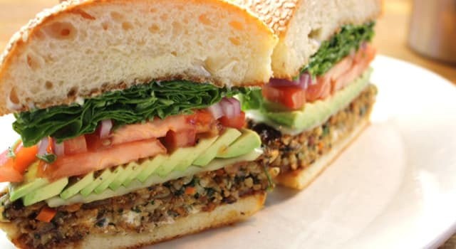 Society Trivia Question: What is the name of a meat-free burger?