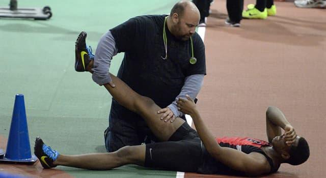 Deporte Pregunta Trivia: ¿Cuál es la rama de la medicina que se ocupa del tratamiento y prevención de lesiones relacionadas al deporte?