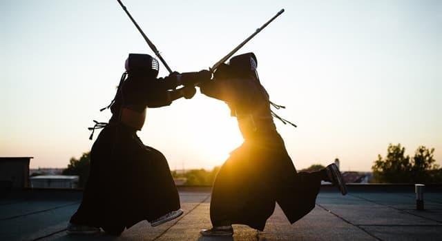 Deporte Pregunta Trivia: ¿Cuál de estos es un arte marcial japonés que utiliza espadas de bambú?