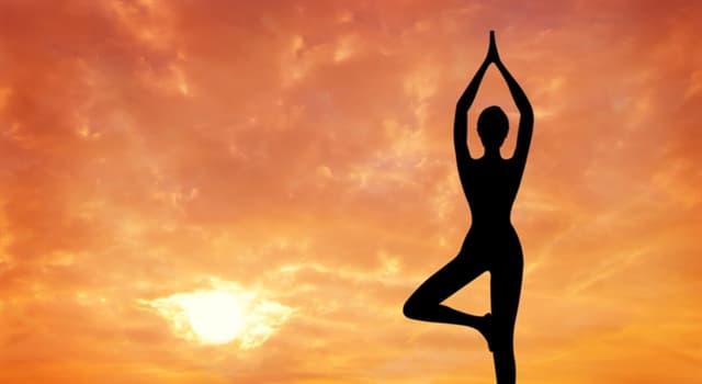 """Deporte Pregunta Trivia: ¿Qué significa la palabra """"yoga""""?"""
