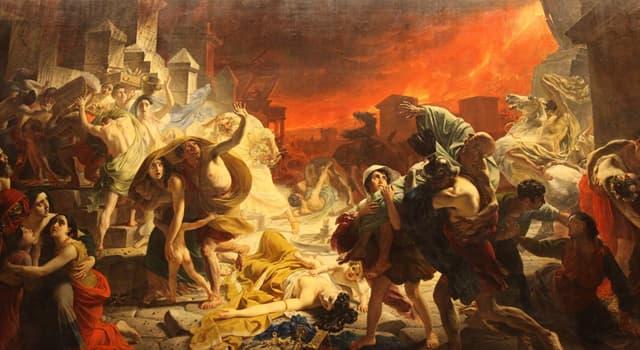 """Cultura Pregunta Trivia: ¿Qué ciudad completa el nombre del monumental cuadro de Karl Briulov """"El último día de...""""?"""