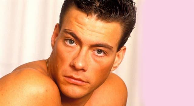 Películas Pregunta Trivia: ¿Cuál es el nombre de pila de Van Damme?