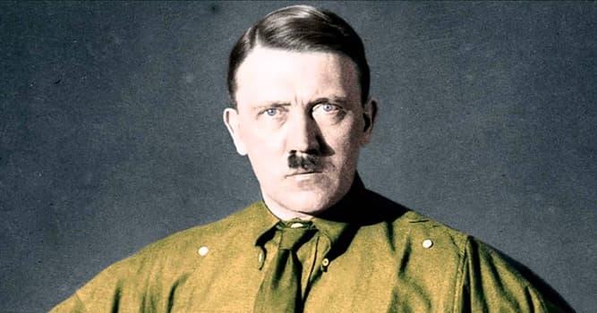 Historia Pregunta Trivia: ¿Cuál era el nombre de pila de Hitler?
