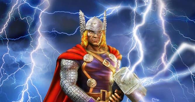 Cultura Pregunta Trivia: ¿Qué arma utiliza Thor, el dios nórdico del rayo, el trueno y las tormentas?