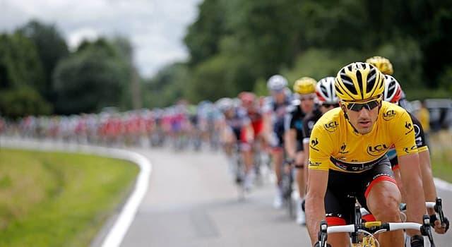 Deporte Pregunta Trivia: ¿Cuál es el color de la camiseta usada por el líder de la clasificación general de El Tour de Francia?