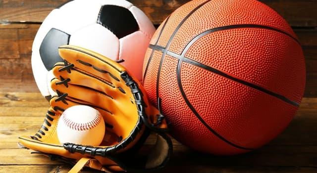 Deporte Pregunta Trivia: ¿Cuál de estos deportes no se juega con una pelota?