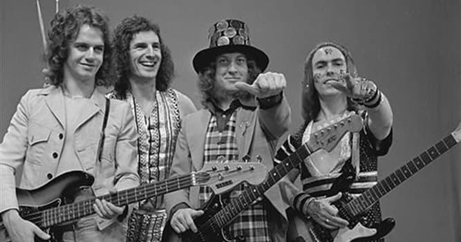 """Kultura Pytanie-Ciekawostka: Angielski zespół rockowy """"Slade"""" stał się sukcesem kiedy skrócił swoją nazwę. Jakie słowo usunięto?"""
