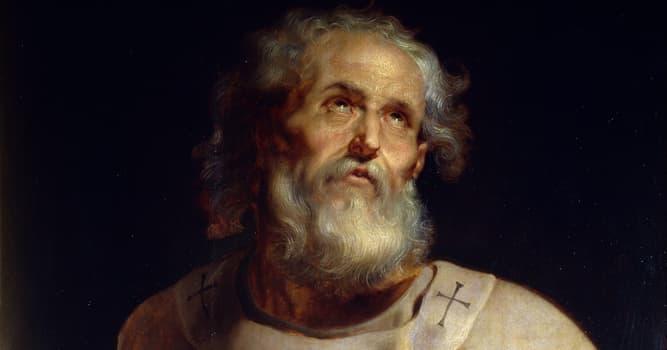Cultura Pregunta Trivia: ¿Dónde fue enterrado San Pedro, según la tradición católica?